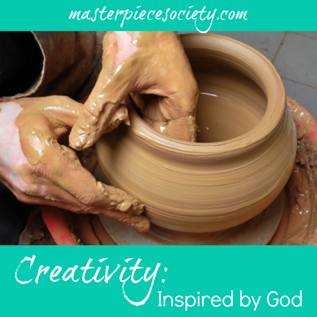 Creativity - Inspired by God | masterpiecesociety.com
