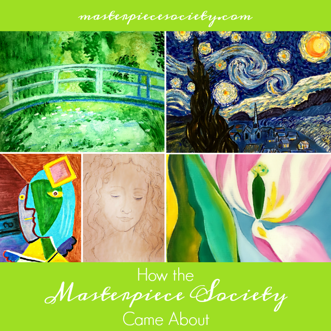 How the Masterpiece Society Came About | masterpiecesociety.com