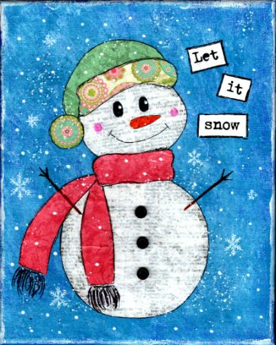 Snowman - smaller