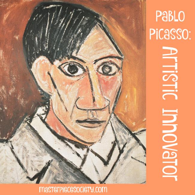 Pablo Picasso - Artistic Innovator | masterpiecesociety.com