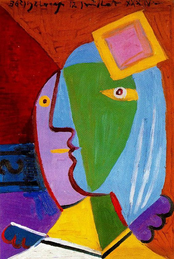 need an essay on picassos woman with stiletto Free picasso papers, essays, and research papers  of seeing is reflected in his  choice of subject, they are showing you what they want you to see  the first  work of art is a sculpture by pablo picasso called, head of a woman (fernande.