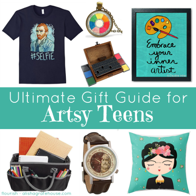 Ultimate Gift Guide for Artsy Teens | masterpiecesociety.com