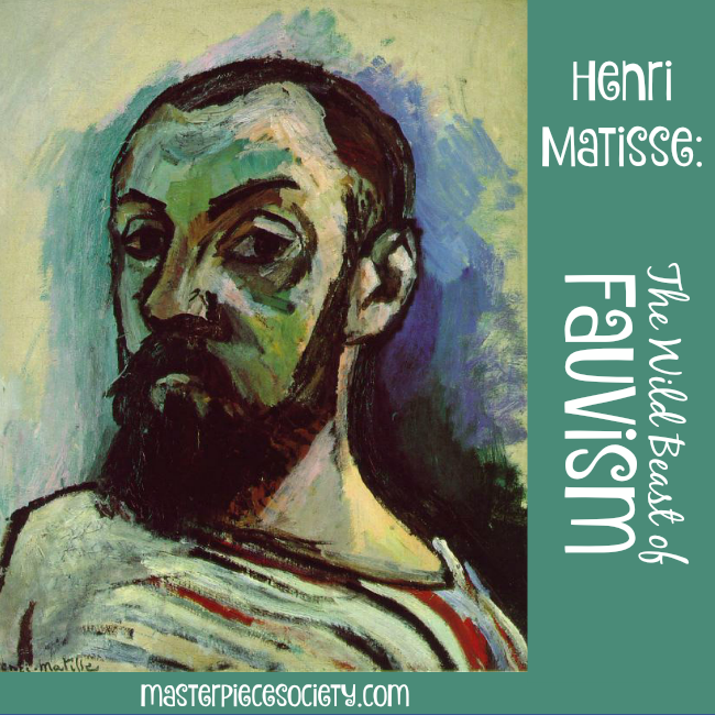 Henri Matisse: Wild Beast of Fauvism | masterpiecesociety.com