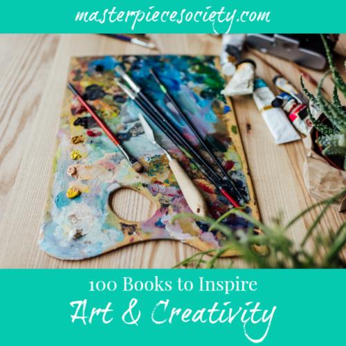 100 Books to Inspire Art & Creativity