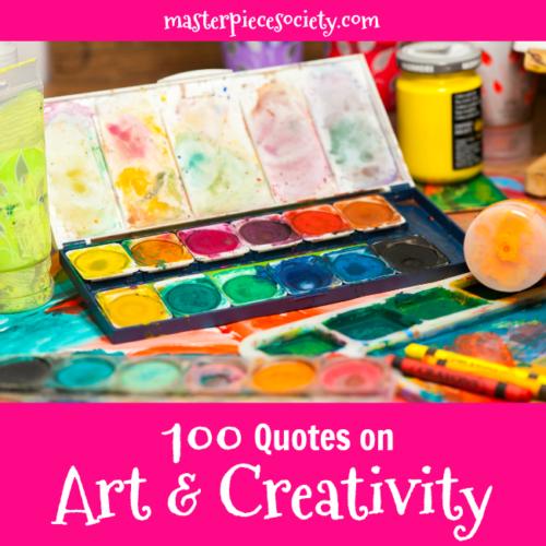 100 Quotes on Art & Creativity