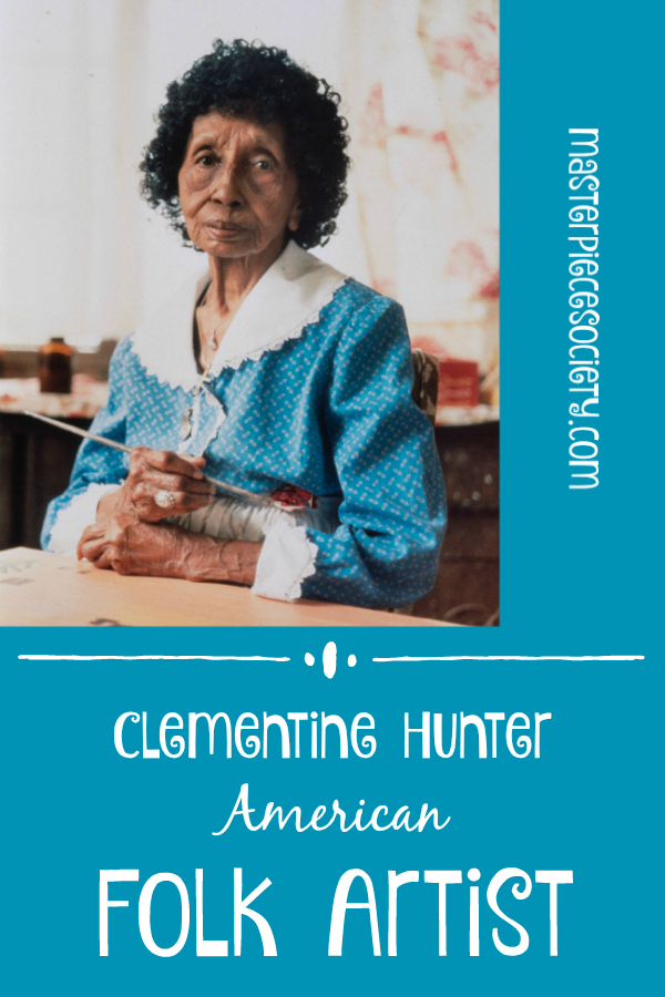 Clementine Hunter American Folk Artist Masterpiece Society